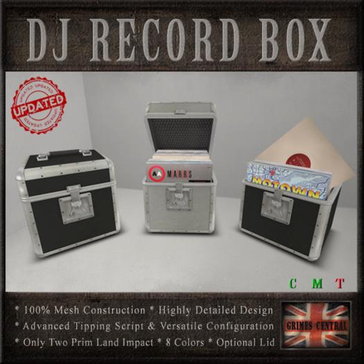 Record Box / DJ Tip Jar