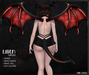 NC :: Demon Lilith_Horns, Tail & Wings *Bento* [HUD]