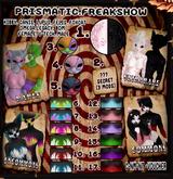 2. Prismatic Freakshow - SR  (Voucher)