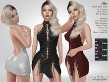 PROMO - Vaxer : Mo Dress - Maitreya Lara, Slink (P, H), Belleza (I, F), Legacy and Classic. 16 Text. Mix & Match