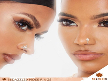 Nov-Bedazzled Nose Rings (S)
