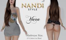 [Nandi Style]-Bag Dress Yara (Undress me)