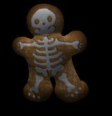 {Papillon} Small Spooky Cookie (Candy, Expendable)