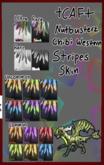 +CAF+[NB} COMMON GREEN STRIPE SKIN CARD