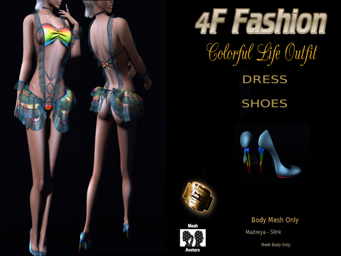 Colorful Life Outfit *PROMO*