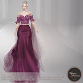 .:FlowerDreams:. Margot Gown - violet