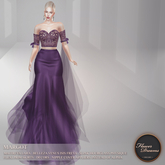 .:FlowerDreams:. Margot Gown - purple Demo