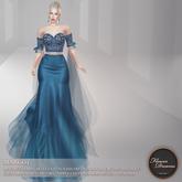 .:FlowerDreams:. Margot Gown - blue