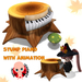 CHIBIT / Piano & Mushroom Chair with animation