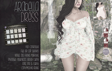 [QE] Arabella Dress -Rosey- DEMO