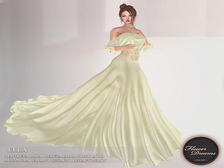.:FlowerDreams:. Ella Gown - sea green