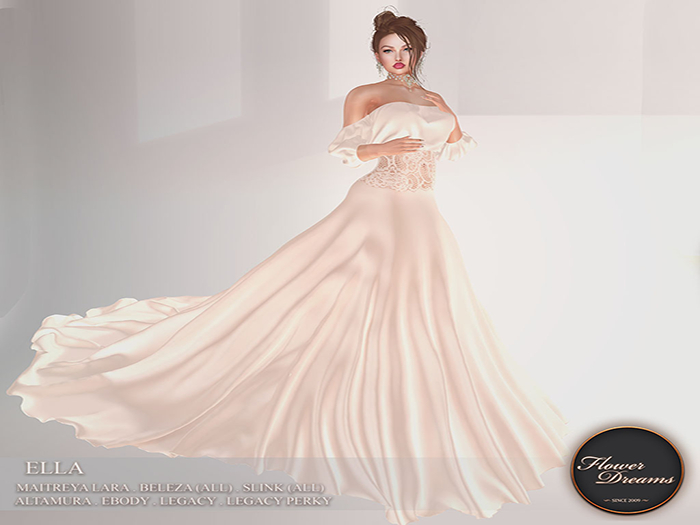 .:FlowerDreams:. Ella Gown - ivory