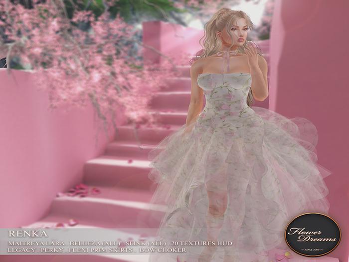 .:FlowerDreams:. Renka Gown