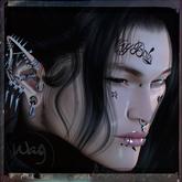 Wag - BOM tattoo - cry baby peep pack