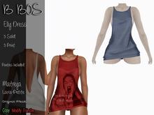 B BOS - Elly Dress - Blue - (Add me)