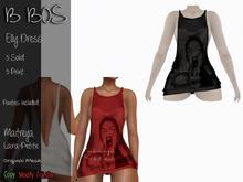 B BOS - Elly Dress - Print Black - (Add me)