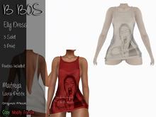 B BOS - Elly Dress - Print White - (Add me)