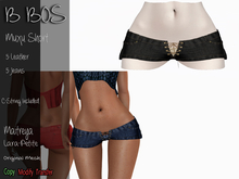 B BOS - Muxu Short - Jeans Black (Add me)