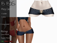 B BOS - Muxu Short - Jeans Indigo (Add me)