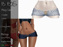 B BOS - Muxu Short - Jeans Ligth Blue (Add me)