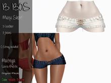B BOS - Muxu Short - Jeans White (Add me)