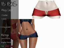 B BOS - Muxu Short - Leather Red (Add me)