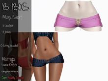 B BOS - Muxu Short - Leather Pink (Add me)