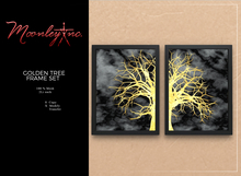 Moonley Inc. - Golden Tree Frame Set