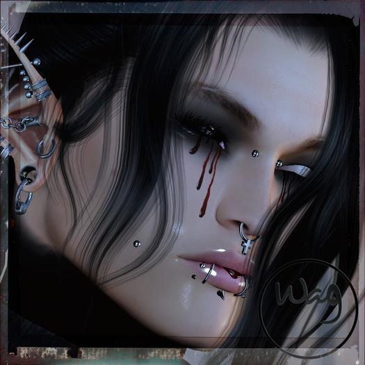 Wag - BOM tattoo -blood shadows pack
