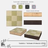 taikou / tatami storage (zen)
