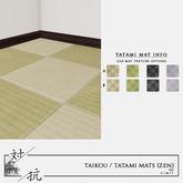 taikou / tatami mat (zen)