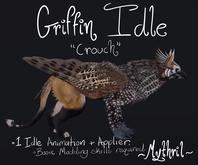 ~Mythril~ BirdEMart Griffin: Crouch Idle