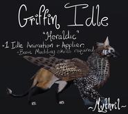 ~Mythril~ BirdEMart Griffin: Heraldry Idle