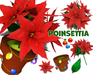 [ FULL PERM ] Christmas & Winter Poinsettia