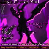 [inZoxi] - Box - Bathwater Pink Drake Chibi Western Mod