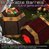 [inZoxi] - Box - Breakable Gem Barrels!