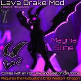 [inZoxi] - Box - Magma Slime Drake Chibi Western Mod
