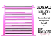 The Bastard Princess - Wall Decor Bubblegum Pink