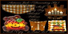 Autumn Jack Decorating Kit
