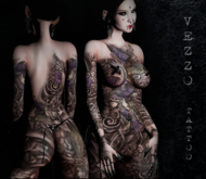 Vezzo Ink - Aya Dark Purple