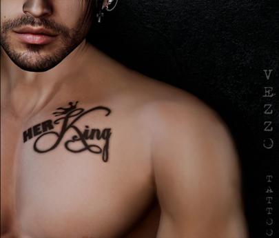 Gift Unisex Ink - Her King & His Queen - Black tattoo, Maitreya, Legacy, INTHIUM KUPRA, Belleza, Signature, Omega, BOM