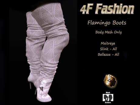 4F Fashion-Flamingo Boots