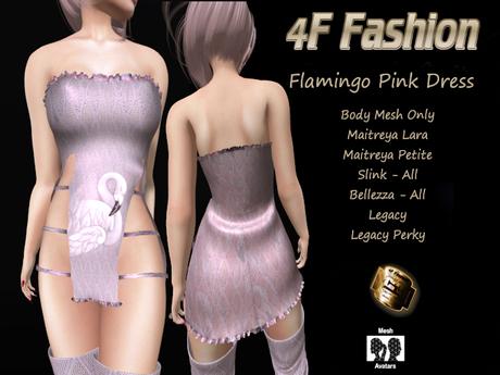 Flamingo Pink Dress NEW RELEASE Petite&Perky