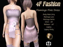 4F Fashion-Flamingo Pink Dress(wear to unpack)