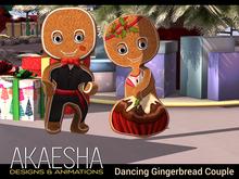 *- Akaesha's -* Mini Gingerbread Couple Box