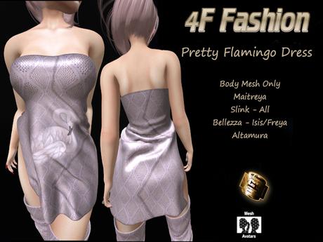 Pretty Flamingo Dress NEW RELEASE