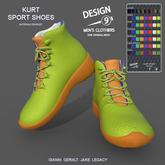 -[d9]- Kurt Sport Shoes Fatpack