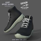 -[d9]- Kurt Sport Shoes Black