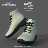 -[d9]- Kurt Sport Shoes White