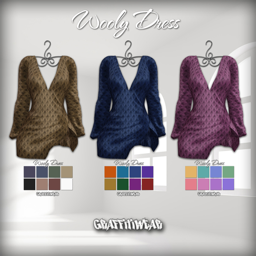 Graffitiwear Wooly Dress Fatpack